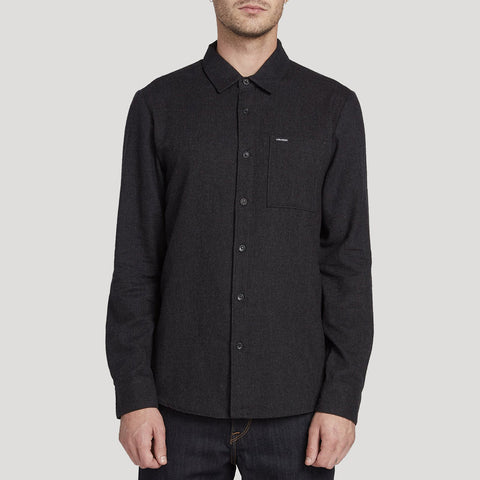 Volcom Caden Solid Long Sleeved Shirt