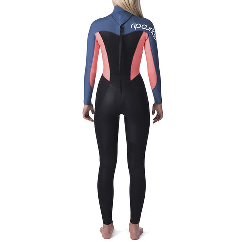Rip Curl Womens Omega 3/2  Back Zip Full Wetsuit