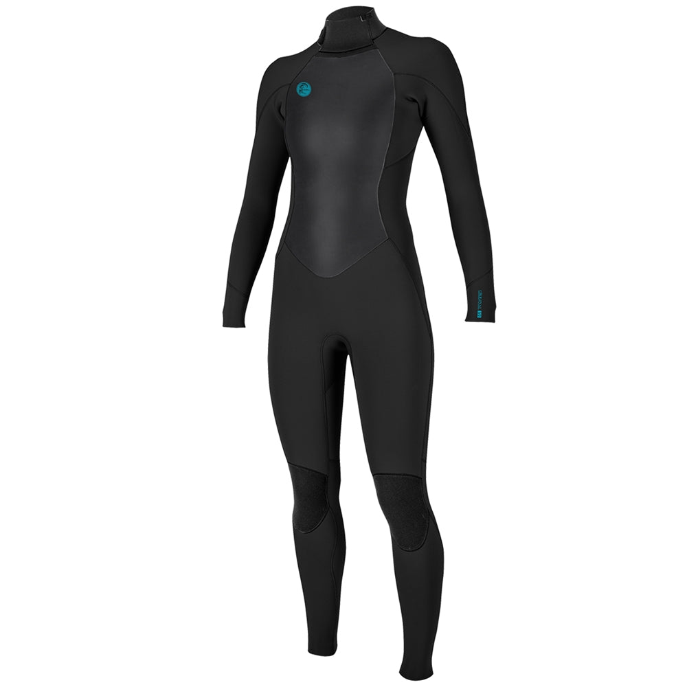 O'Neill Womens O'Riginal 5/4mm Back Zip Full Winter Wetsuit - Black