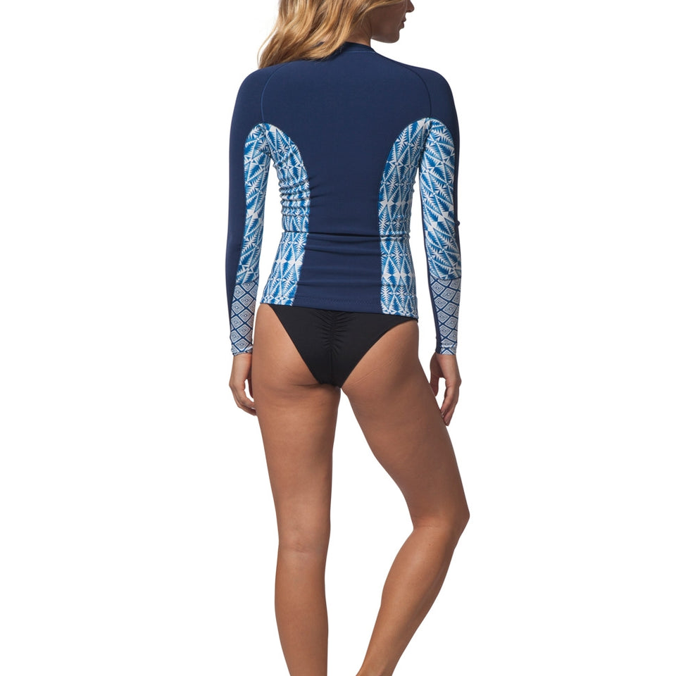 Rip Curl Womens G Bomb 1MM L/S Front Zip Jacket