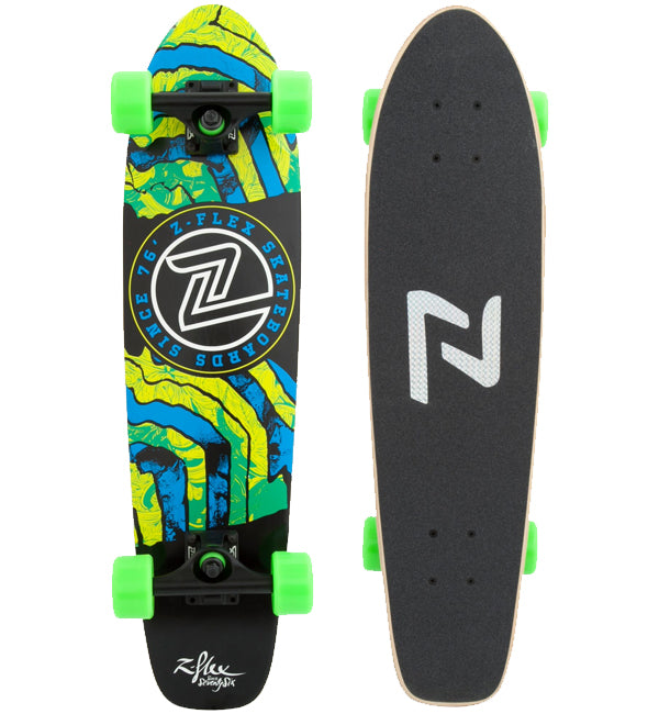 "Z Flex Delirium Cruiser 29"" Green / Black"