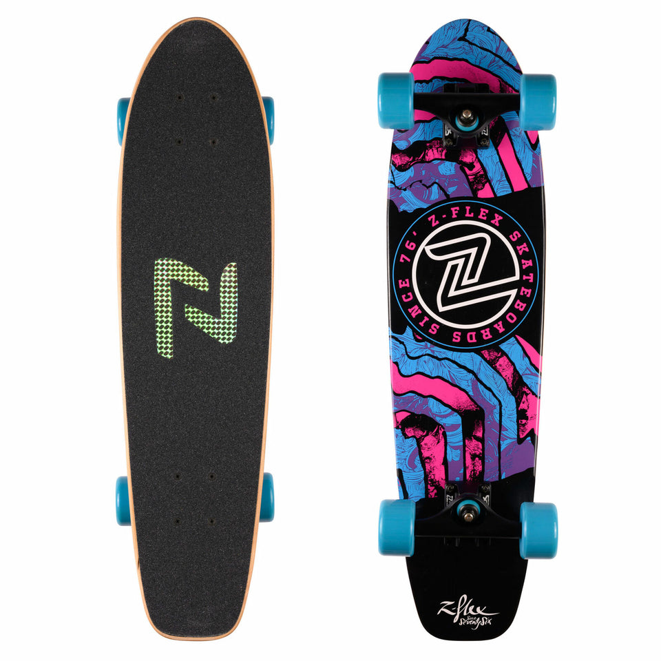 "Z Flex Delirium Cruiser 29"" Blue / Black"