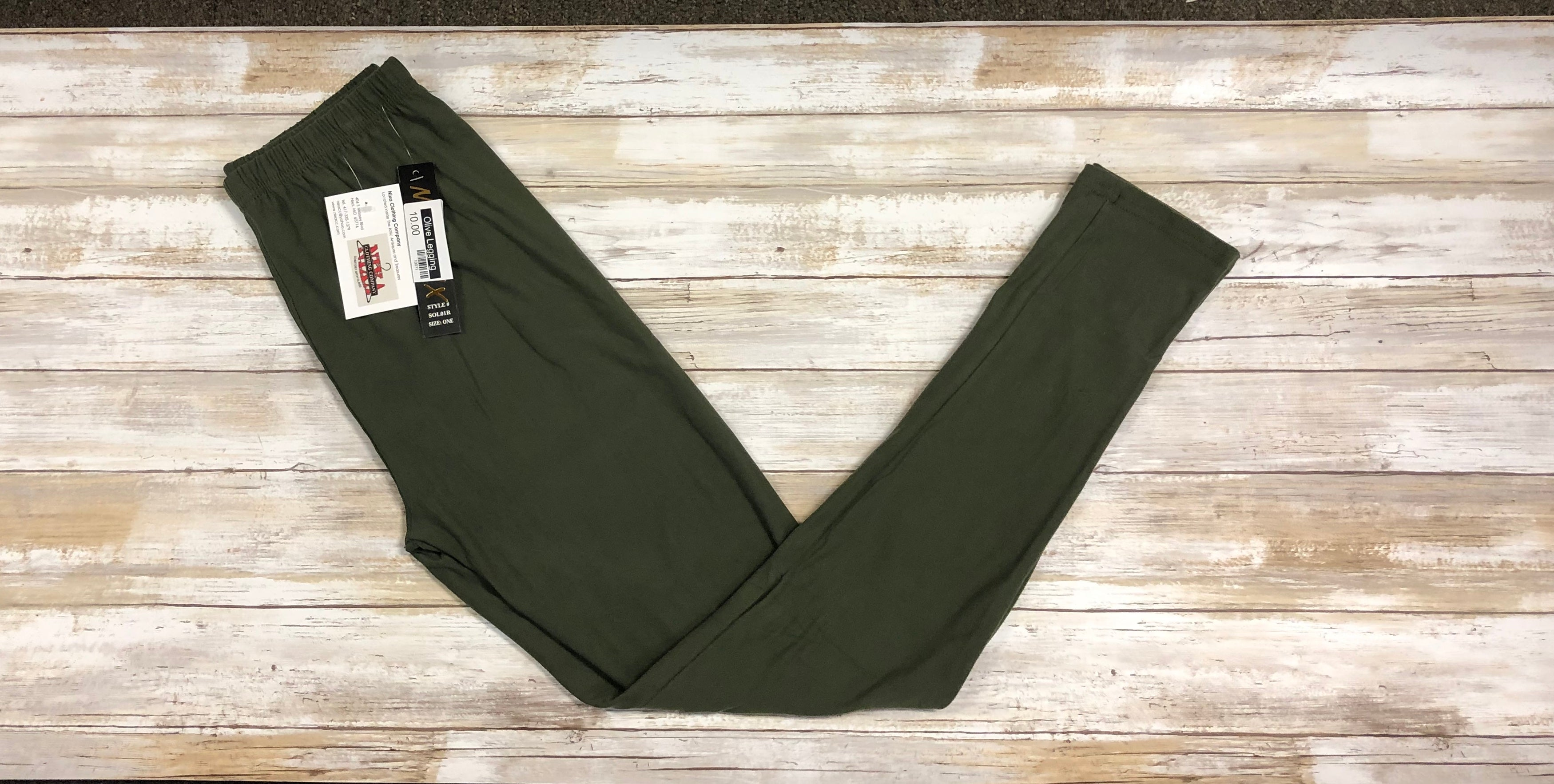 Leggings Olive (Buttery Soft)