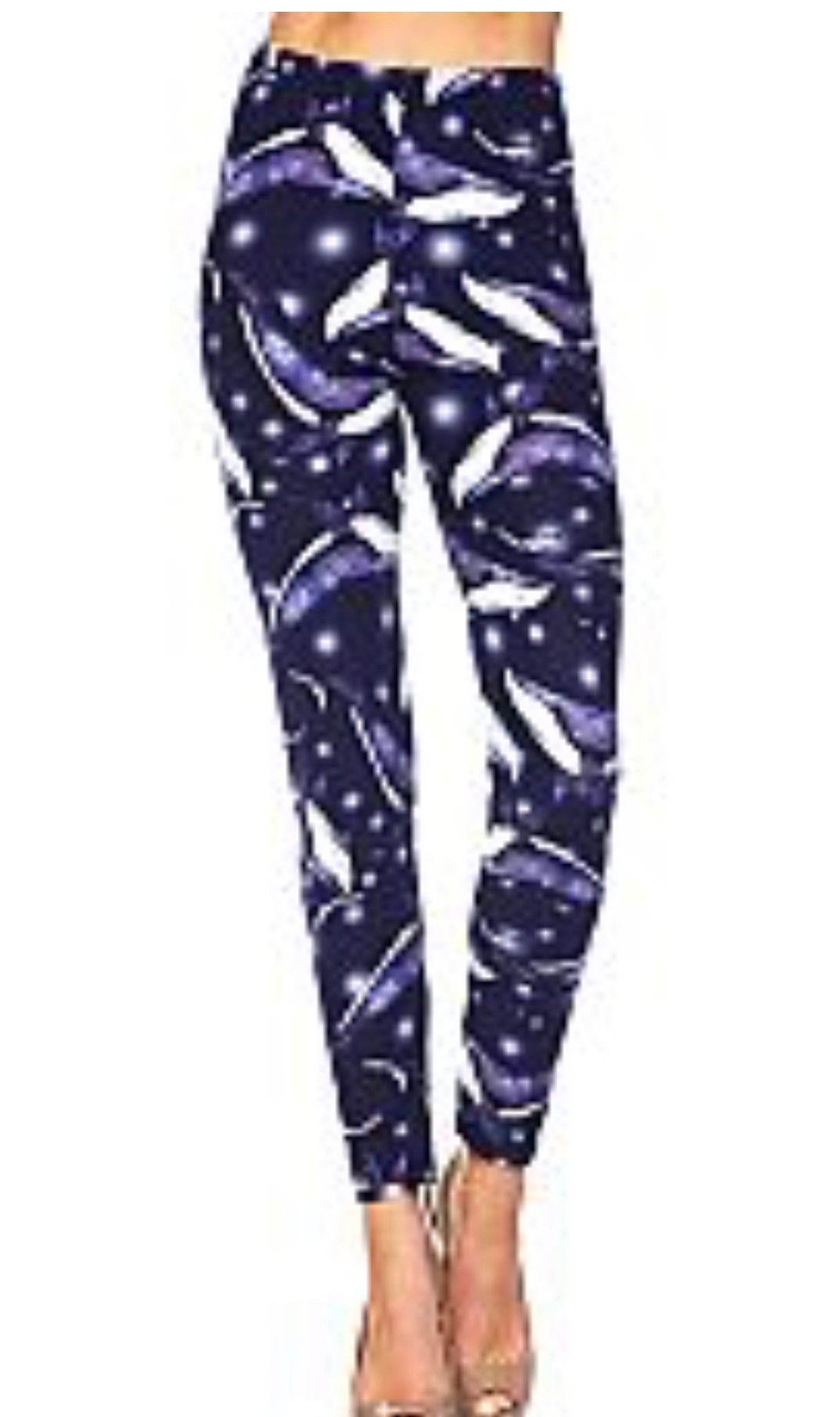 Leggings Blue Whales (Buttery Soft)