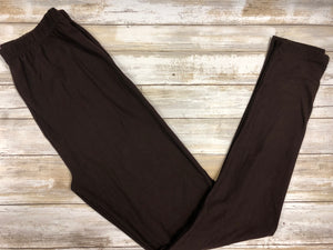 Leggings Brown Buttery Soft
