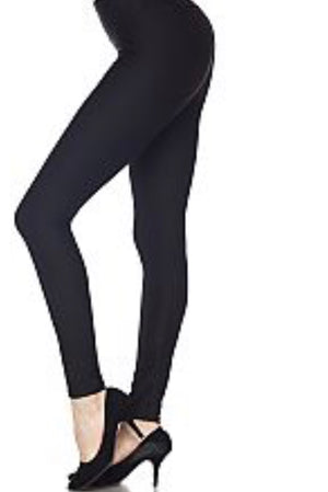 Leggings Black Buttery Soft