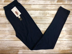 Leggings Navy (Buttery Soft)