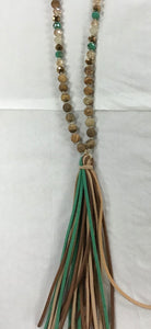 Fanciful Fringe Necklace