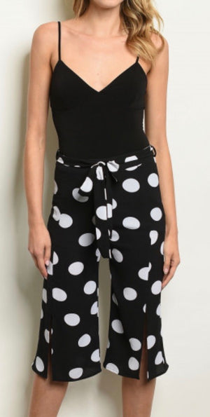 On The Dot Crop Pants