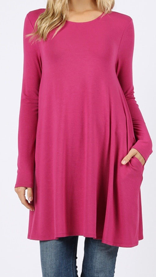 Mad For Magenta Tunic