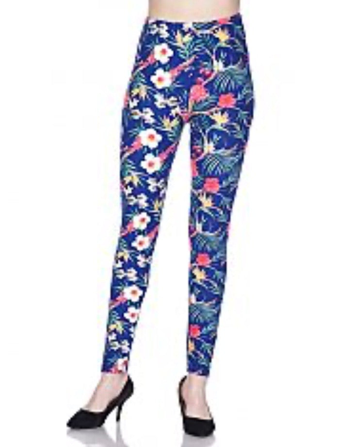 Legging Floral and Forest