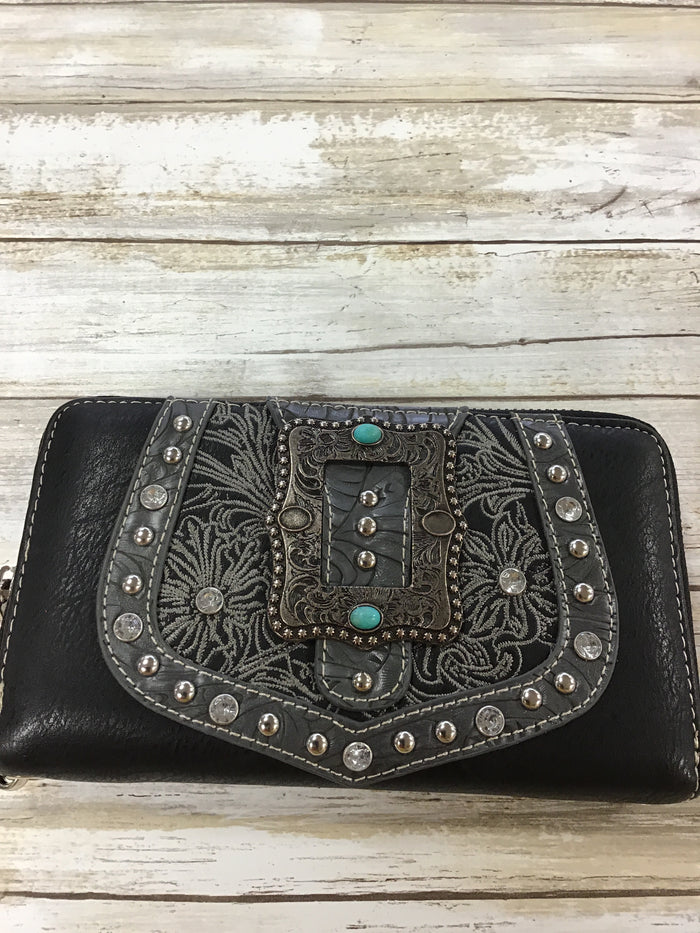 American Bling by Montana West wristlet wallet