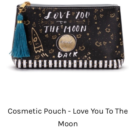 Cosmetic Bag - Moon