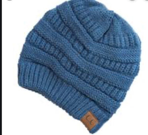 CC Beanie Dark Denim