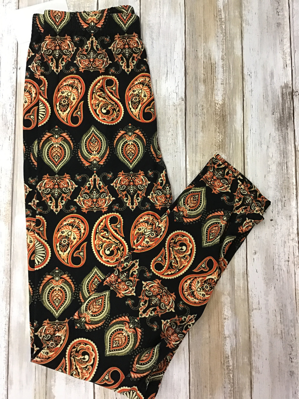 Leggings Pretty Paisley (Buttery Soft)