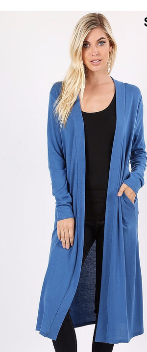 Blue Mist Mid length sweater