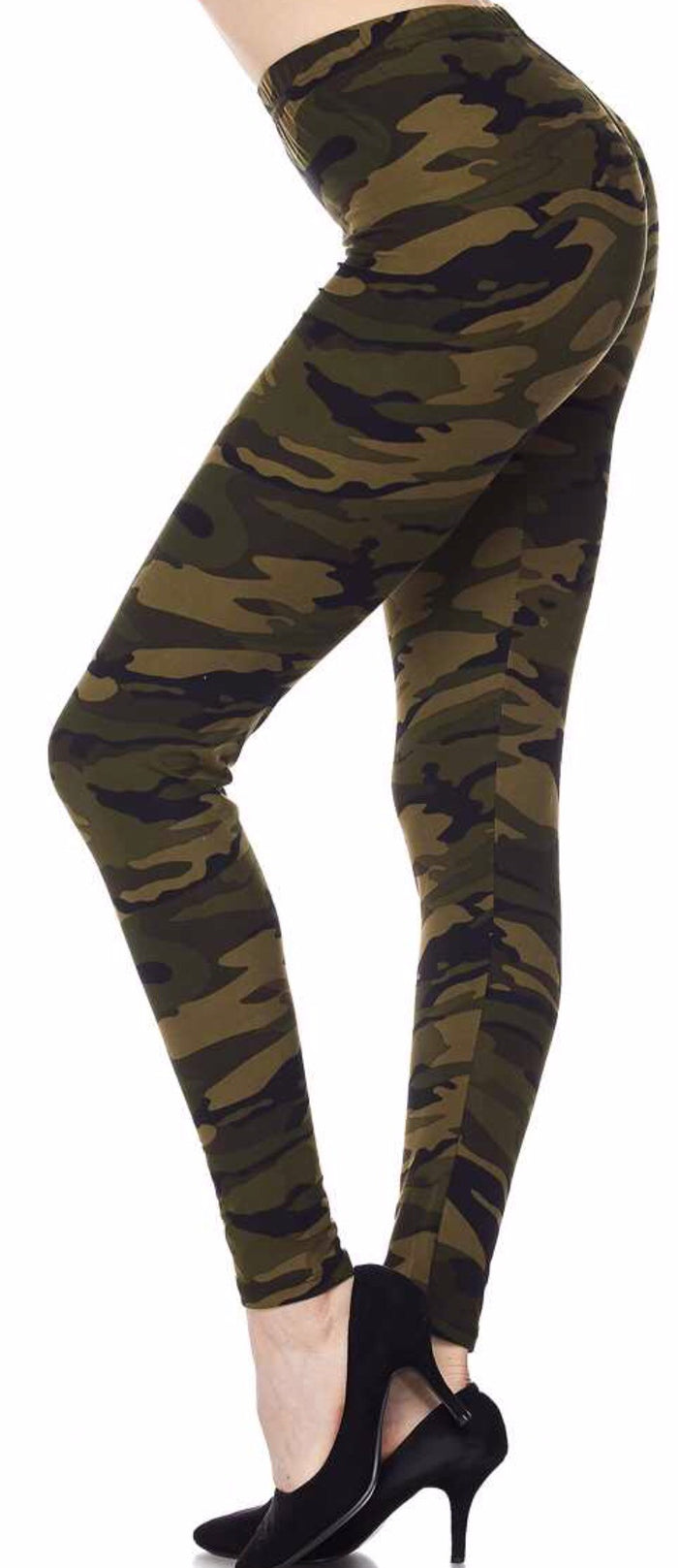 Leggings Camo (Buttery Soft)