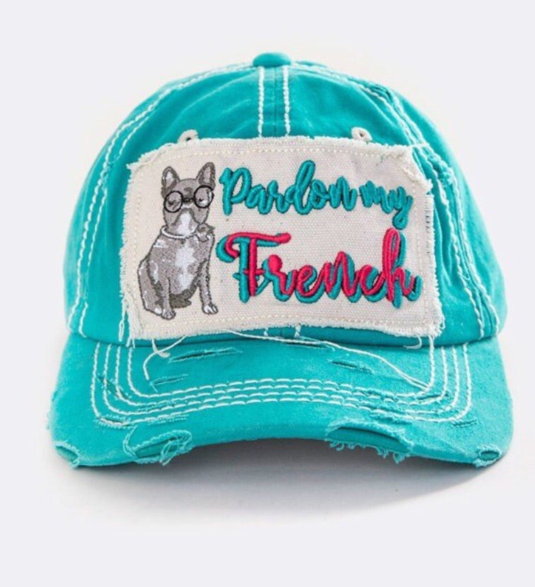 Pardon My French Teal