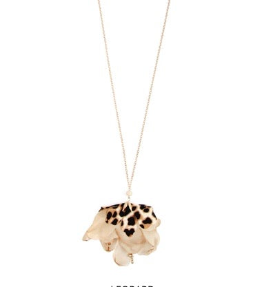 Blooming Leopard Necklace