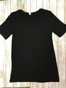 Black shirt tunic