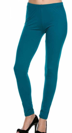 Teal Leggings
