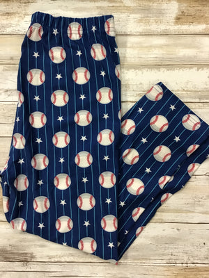 Capri Baseball Buttery Soft Leggings