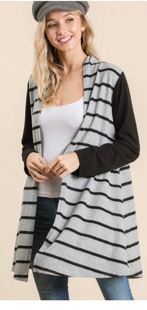 Stripes Around Cardigan