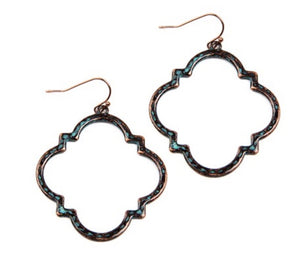 Burnish Turquoise Earrings