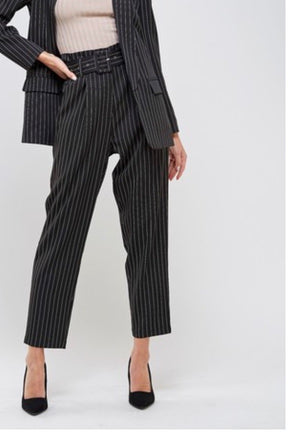 On Point Pinstripe Pants