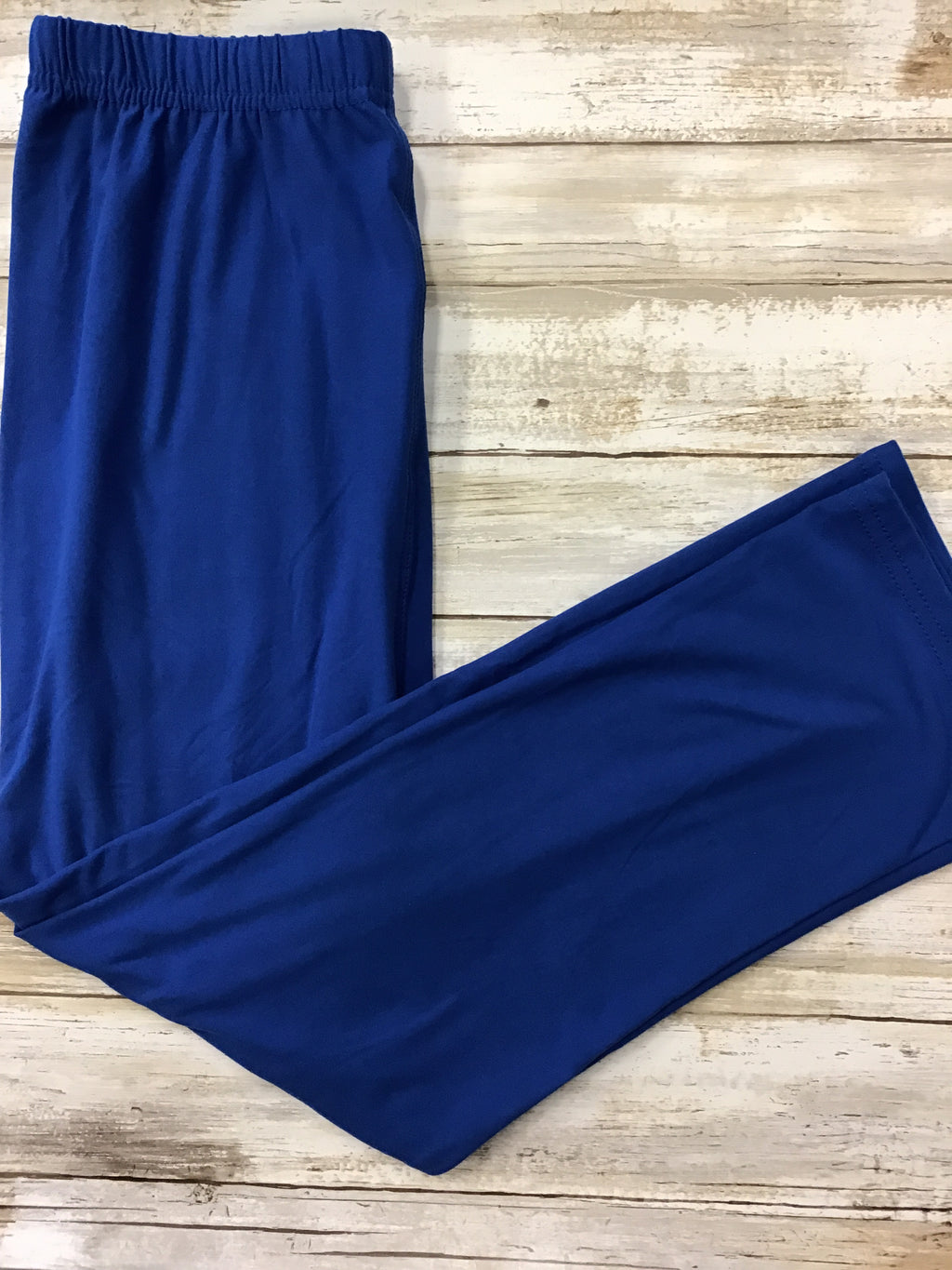 Capri Royal Blue Buttery Soft Leggings