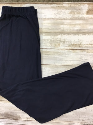 Capri Navy Buttery Soft Leggings