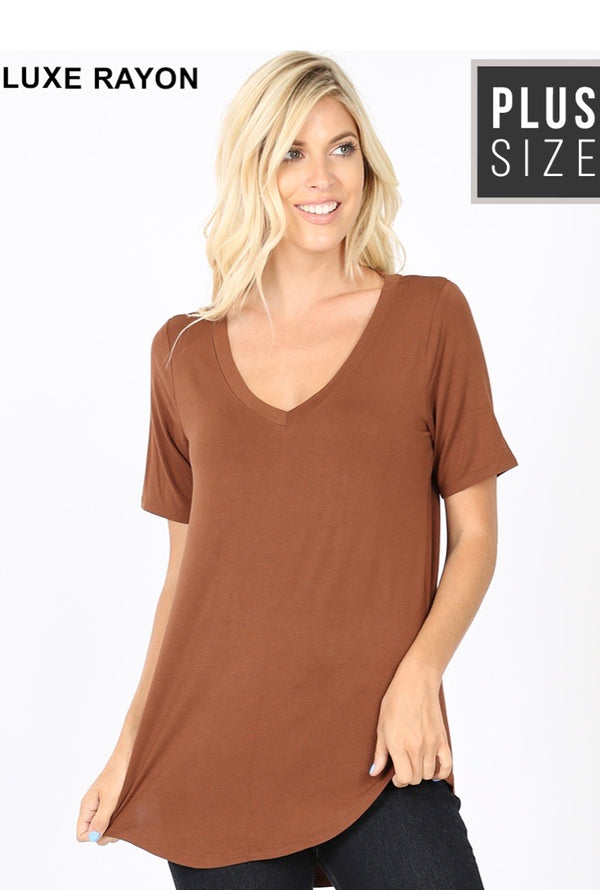Brown Hi Low Tunic