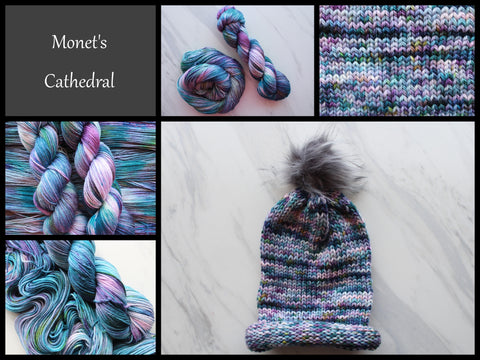 Monet's Cathedral Hand-Dyed Yarn