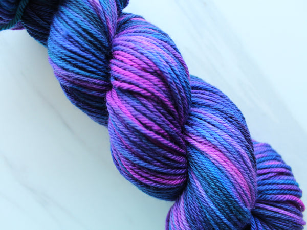 AMETHYST DREAMS on Wonderful Worsted