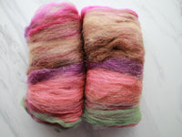 ANACHRONISM Art Batt for Spinning and Felting