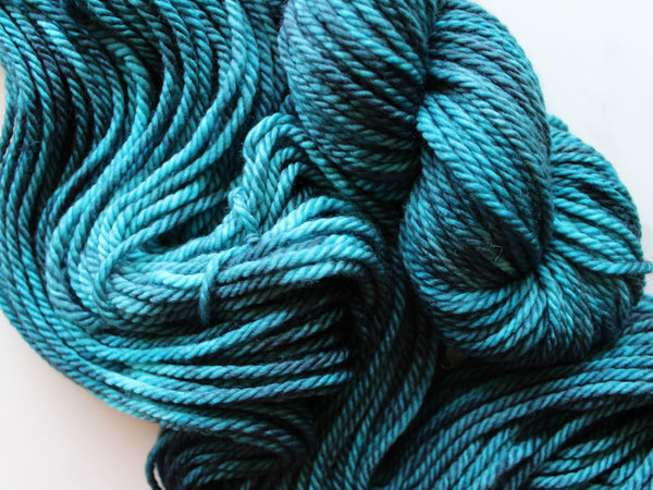 ANNUNCIATION BLUE on Quick and Cozy Bulky Yarn