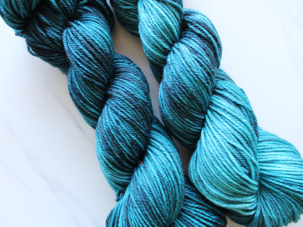 ANNUNCIATION BLUE on Wonderful Worsted