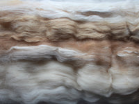 AU NATUREL Art Batt for Spinning and Felting