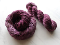 AUBERGINE on So Silky Sock
