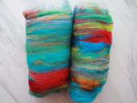 BRIGHT SUNSHINY DAY Art Batt to Spin or Felt