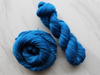 BRILLIANT BLUE on Squoosh DK