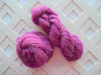 BURGUNDY ROSE on Alpaca Lace Cloud