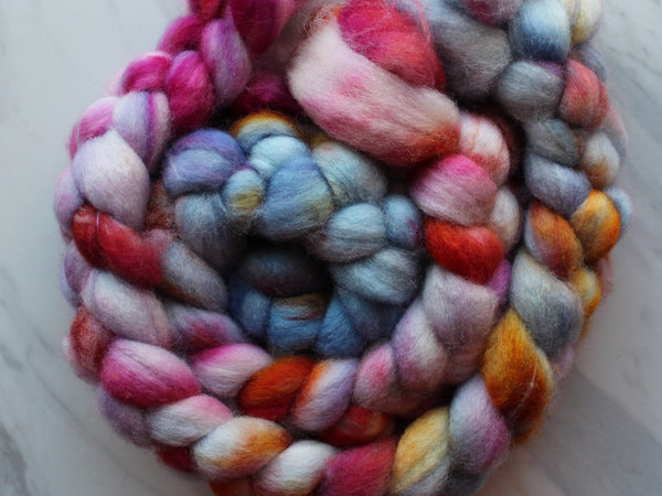 BUTTERFLY GARDEN Hand-Dyed Superwash BFL