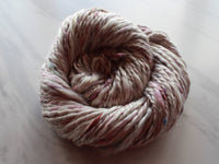 CHERRY BLOSSOMS HANDSPUN 2-Ply Bulky Weight 100% Silk Yarn