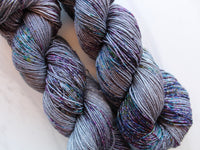 COMPLICATIONS on Sparkly Merino Sock