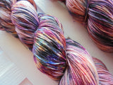 QUEEQUEG Handdyed Yarn on Sock Perfection Superwash/Nylon Sock Yarn