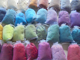 FELTING AND SPINNING FIBER  - Coordinating Colorway Sets with Merino, Silk, Bamboo, and Sparkle