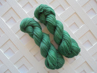 FOREST GREEN on Dream Sock Yarn