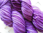 PURPLE HEATHER on Quick and Cozy Bulky Yarn