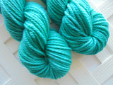 TURQUOISE on Quick and Cozy Bulky Yarn